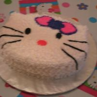 """special"" Hello Kitty Bailey's ""Special"" Cake for her 5th Birthday."