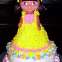 ::1St Birthday Dora Smash Cake::