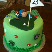 Golf Birthday Cake For my sons 23rd BithdayI got this cake off of this website and I am so sorry that I dont remember who to give credit to.Irish car bomb...