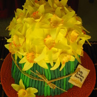 The Famous Daffodil Cake  I have fallen in love with this cake the moment I saw it on CC. I had to do it. I had the perfect opportunity come up and decided to give...