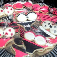 Bra And Panties! bra and panty cookies for lingerie shower, nfsc with antonia's RImy first paid cookie order!