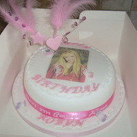Hannah Montana This was for a my friends daughters 9th Birthday she loved it but I think it could have been better