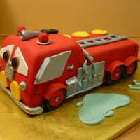 Fire Engine From Cars Movie