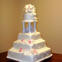 Calla Lilly Wedding Cake   Calla Lilly Wedding Cake
