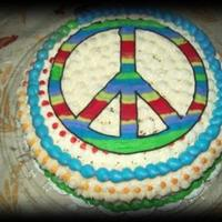 Peace Of Cake Peace sign