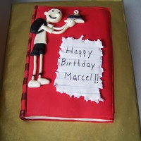 Diary Of A Wimpy Kid Birthday Cake