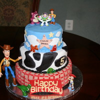Toy Story Birthday Cake Toy Story Birthday Cake.