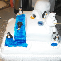 Penguin Fun made this for my sons boxing club christmas party my son made the polar bear