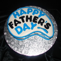 Happy Father's Day A last minute cake that I made for a manager at my boyfriends job.