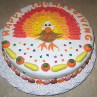 Thanksgiving Turkey Cake Thanksgiving turkey cake