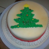 Christmas Cake Made By My Daughter