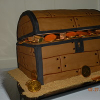 Treasure Chest Thanks to all cc members who's treasure chest cake photos inspired this cake.
