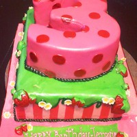 Strawberry Shortcake 3Rd Bday