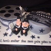 Laurel And Hardy Cake.