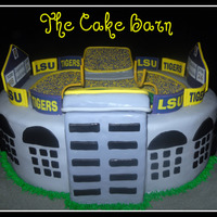 Lsu Tiger Stadium Cake