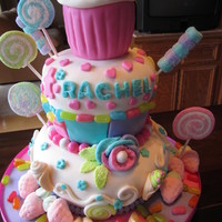 Rachel's Candy Dream Cake
