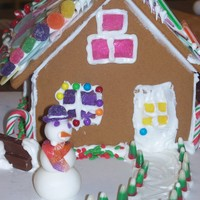 Daughters Gingerbread House This is the ginger bread house that my daughter toke a Wilton class for. she was way excited beacuse I had been taking cake classes. I...