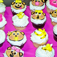 Monkey Theme Baby Shower so much fun to do!!