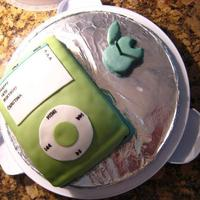 Ipod Cake This cake was made for my boyfriend's sister 18th birthday. She loved it =)