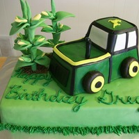 John Deere Tractor Thanks to all the CCers for the inspiration! Everyone loved it.