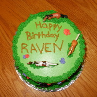 Raven's 11Th Birthday Cake