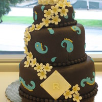 Bollywood Cake This is a chocolate lovers Bollywood dream cake. Triple chocolate cake, chocolate ganache, nutella buttercream icing, and dark chocolate...