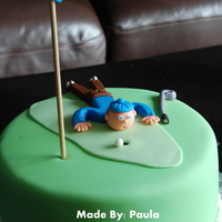 Joe Loves His Golf! Made for a friend of ours! He is turning 61 and LOVES his golf game. Inspiration from CC! My first character...took 2 hrs...still need much...