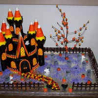 Candy Corn Castle Halloween Candy Corn Castle