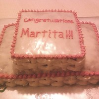 Martita's My boyfriend's mom's best-friend just opened a restaurant called Martita's. So, I decided to make her a congrats cake. I...