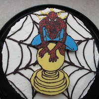 "Spiderman Tingling I was asked if I could do a ""Spiderman Tingling"" cake for a little boy. his Mom didn't know what that meant and neither did..."
