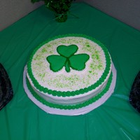 Shamrock Transfer lemon cake with lemon bc, the shamrock is a fbct.