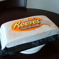 Reeses White Chocolate Peanut Butter Cups title pretty much says it all :)