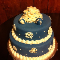 Christmas Winter Cake   For a Holiday Party...