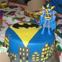 Batman Birthday Cake My Sons 6th Birthday Cake