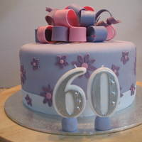 60Th Birthday Cake My mums 60th Birthday cake