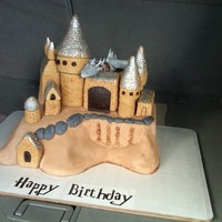 "Harry Potter  My husband is currently serving in Iraq and this cake was made for his Army buddy""s wife. He wanted to surprise her even though he is..."