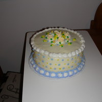 First Buttercream I'm not very good with buttercream. I'm trying to get it right.. This was a practice cake someone did buy from me. It was my...