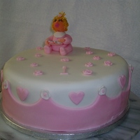 1St Birthday   this is a cake i did for my grandaughters 1st birthday