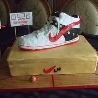 Mj Sneaker is made of rice treats.