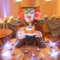 Mad Hatter lifesize Sweet 16 cake