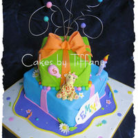 Emma 2 This was a cake inspired by Andrea's Sweet Cakes.