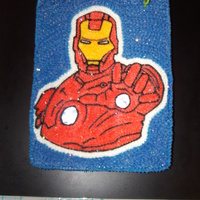 Ironman This was for my grandson's 5th B=Day. I carved two opening one on Ironman's chest and the other on his hand and place 2 plastic...