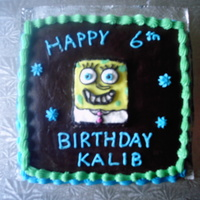 Spongebob Cake This cake is one that I did for our neighbour's son. At the time Spongebob Squarepants was his favorite character. This was the first...