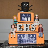 High School Reunion Cake This cake was for my brother's 20th high school reunion.