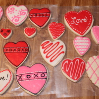 Sugar Cookies - First Real Attempt  My first real attempt. I would like to thank all the wonderful people here that gave me the inspiration. I could not have done these...