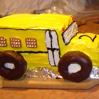 School Bus Cake My son LOVED school buses. This was my first creative cake since becoming a mom and it really sparked something in me that just took off!