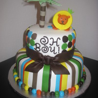 The King Of The Jungle Cake Loads of inspriation from here on CC. TFL!