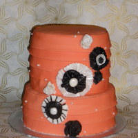 Ruffles Another friend's 21st - I have been planning this cake for a while and in the meantime several beautiful cakes have been posted on CC...
