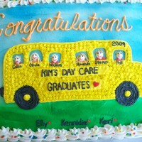 Day Care Graduation Cake At the end of each school year the Day Care/Preschool where I took my children has a huge picnic for all the families. I make different...