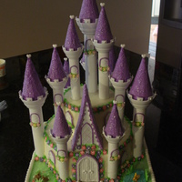 Wilton Princess Castle Cake  This was by far the most time-consuming cake so far but was surprisingly easy to do. Some of the details could be fiddly but im sure if I...
